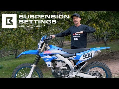 UNDERSTANDING BASE SUSPENSION SETTINGS WITH GEOFF BALLARD