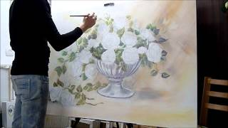 Drawing & Painting  Bouquet of roses. Part -2