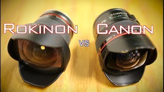 Comparison: Canon 14mm vs. Rokinon 14mm