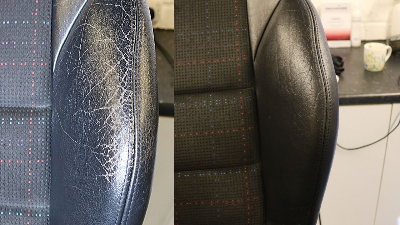 Repairing Worn Out Cracked Leather Seats Yourself Easy And Cheap Youtube
