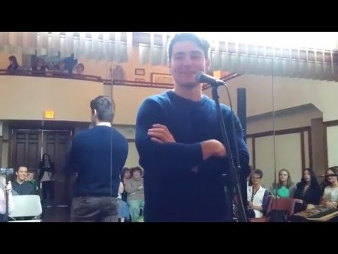 Emmet Cahill Meet & Greet Q&A in Sewickley, Pa - Part 1/7