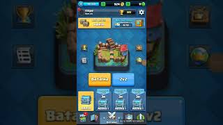 Fis a match with a random person in the Clash Royale