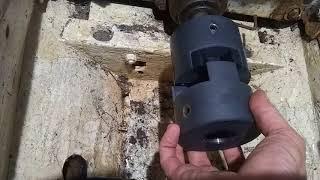 Electric Blue Solar Yacht motor install part 1