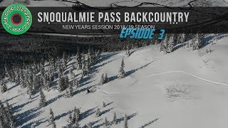 New Years Day Shred: Snoqualmie Pass Backcountry Snowboarding & Pow Surfing