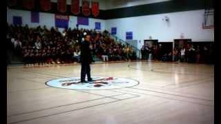 Chris Herren kicks off Project Purple at Ocean City High School