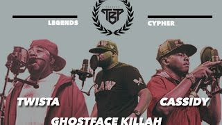 Twista, Ghostface Killah, Cassidy (Prod. Trox) | Legends Cypher