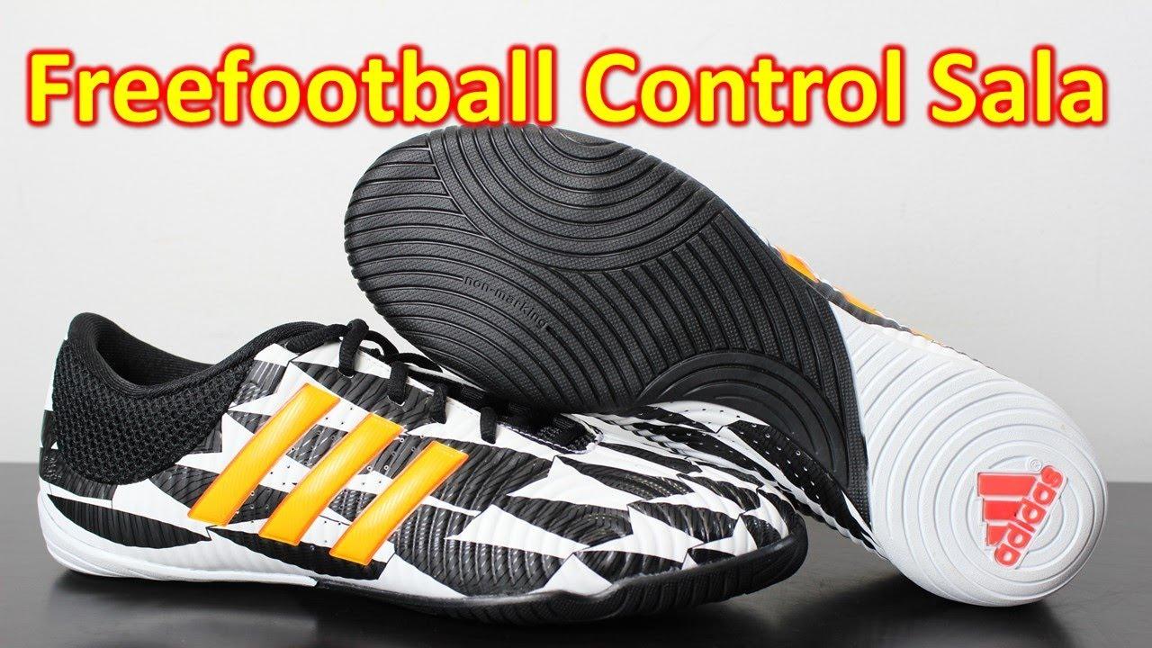45aae07cc Adidas Free Football Control Sala Battle Pack - Unboxing + On Feet - YouTube