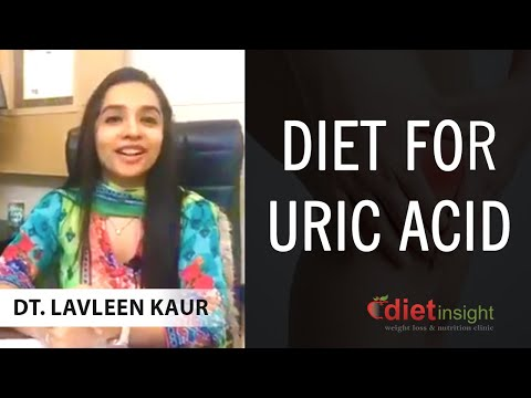 How to deal with uric acid problem with help of diet and lifestyle?