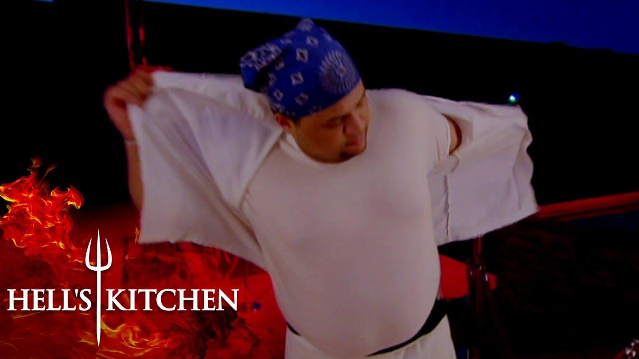 Kashia Melanie Go Head To Head Hell S Kitchen Youtube