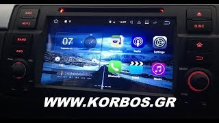 Bmw E46 with Bizzar Android 7.1 Oem Multimedia www.korbos.gr
