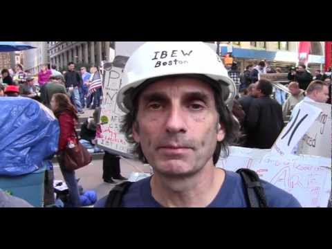 Boston Union Worker Visits New York and OWS