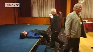 Ve štábu Miloše Zeman zkolaboval novinář