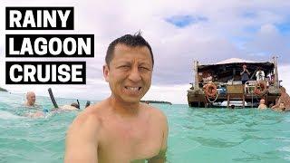 AITUTAKI LAGOON CRUISE   Vaka Cruise   A Rainy Experience in Cook Islands