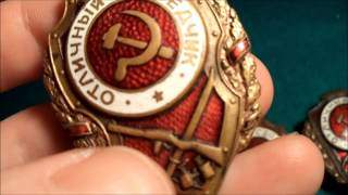 Special for Smartass Dan: Soviet Excellent Service Badge (nr108)