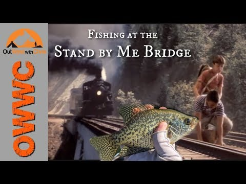 Stand By Me Bridge Fishing - Great Crappie Spot