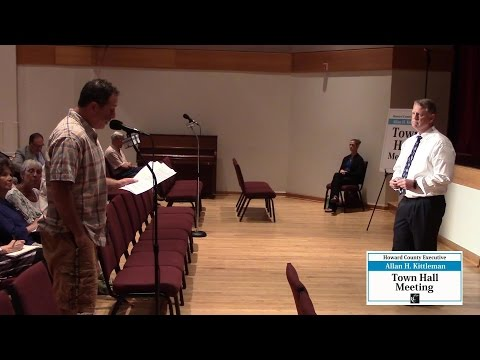 Howard County Executive Kittleman's Columbia -- Wilde Lake Town Hall, June 21, 2016
