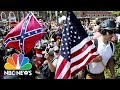 Why The Symbols Of White Hate In Charlottesville Look So Familiar | NBC News