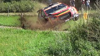 WRC Rallye Deutschland 2019 Shakedown - Crashes Mistakes