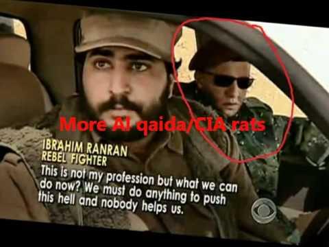 CIA / Al Qaida RATS in Libya fighting side by side