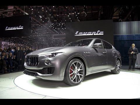 2017 Maserati Levante First Look - 2016 Geneva Motor Show