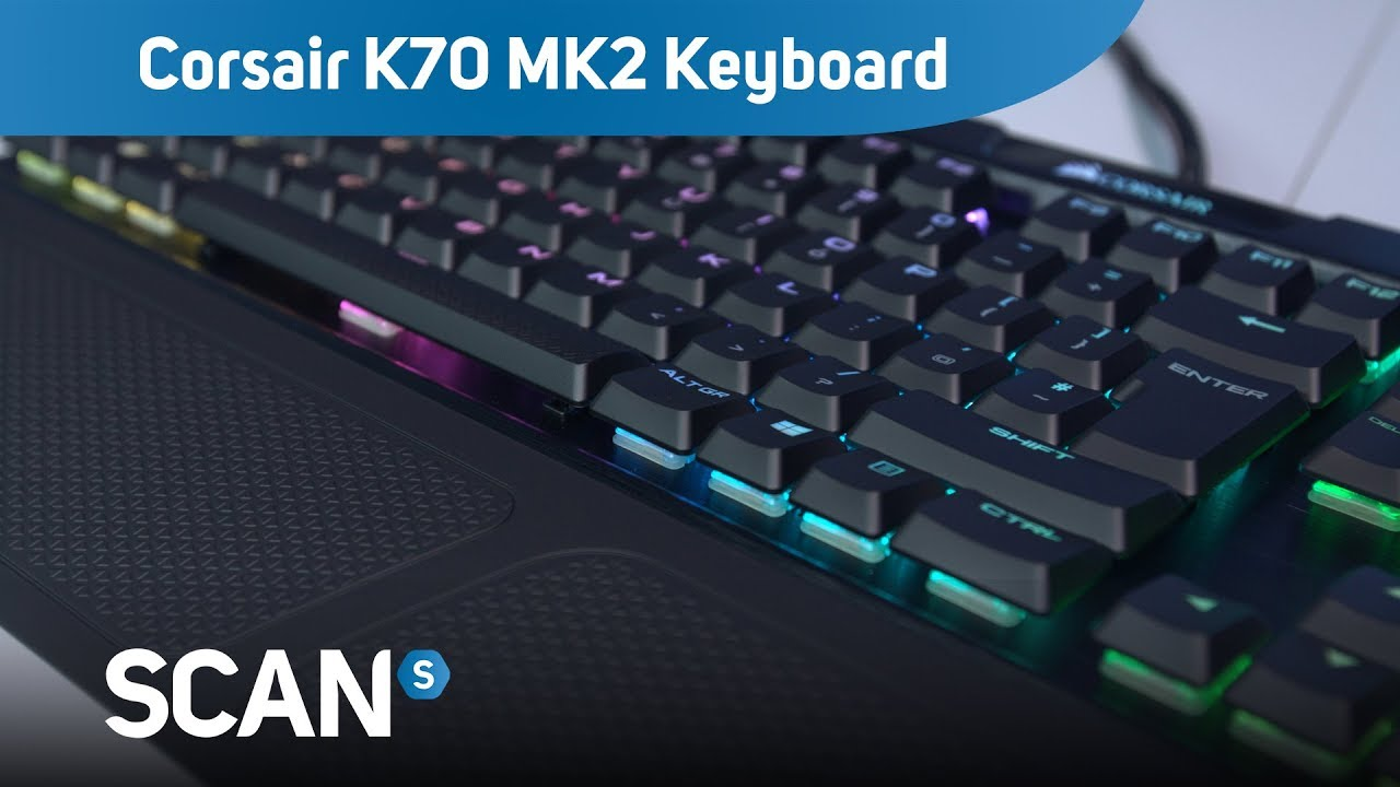 Corsair K70 MK2 Low Profile RGB mechanical Keyboard - Product Overview