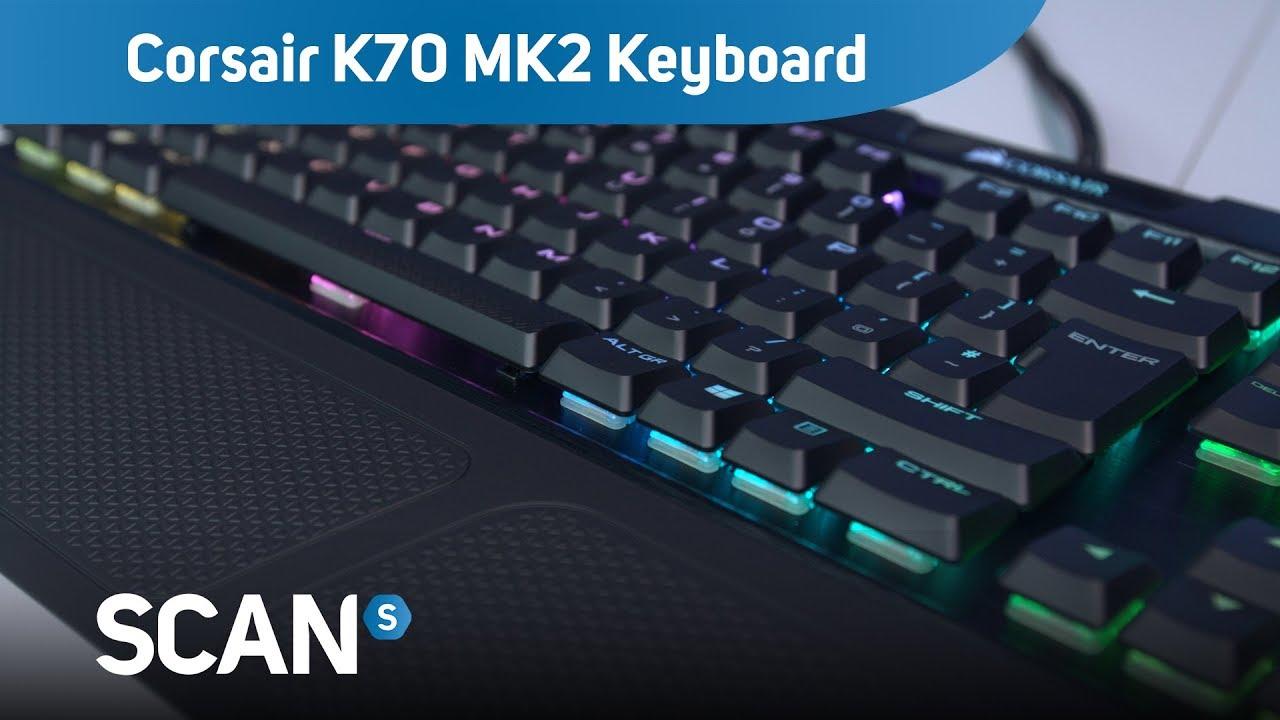 16c87291ccd Corsair K70 MK2 Low Profile RGB mechanical Keyboard - Product ...