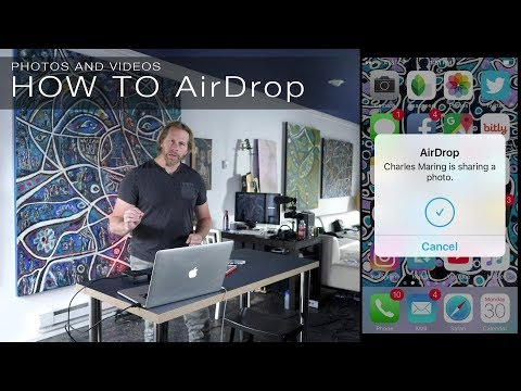 How to Airdrop Photos and Videos from iPhone iPad to Macbook ios 11