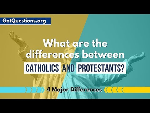 What are the differences between Catholics and Protestants