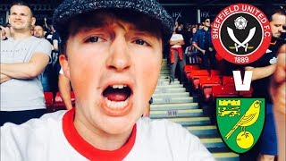 BLADES TOOK THEIR TIME - SHEFFIELD UNITED V NORWICH CITY MATCHDAY VLOG
