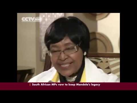 Exclusive interview with Winnie Mandela, his former wife