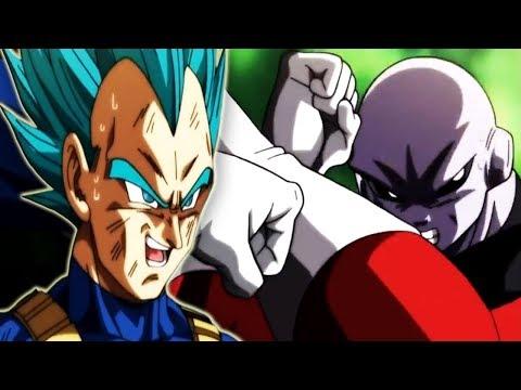 VEGETA MADE JIREN SWEAT! VEGETA Vs JIREN   Dragon Ball Super Episode 122