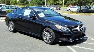 2016 Mercedes Benz E400 E-Class 4MATIC 3.0L Biturbo V6 Coupe Start Up, Tour and Review