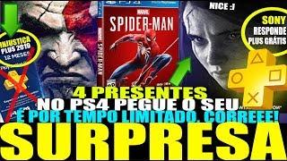 PS4 TEM VÁRIOS GRÁTIS! SONY RESPONDE VIDEO DO ONLINE DE GRAÇA E KRATOS NO MK11 (Notícias PS4 - 2019)
