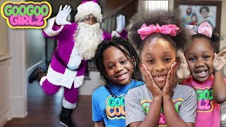 Did Santa Clause Loose His Color? 🎁☃️🎄(Learn To Recognize Colors with Goo Goo Girlz)