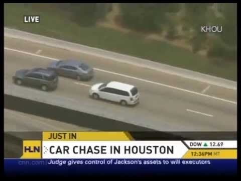 Houston High Speed Chase 06 July 2009. HLN News
