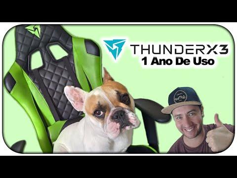 Como está a cadeira Gamer ThunderX3 TGC12, após 1 ano de uso?