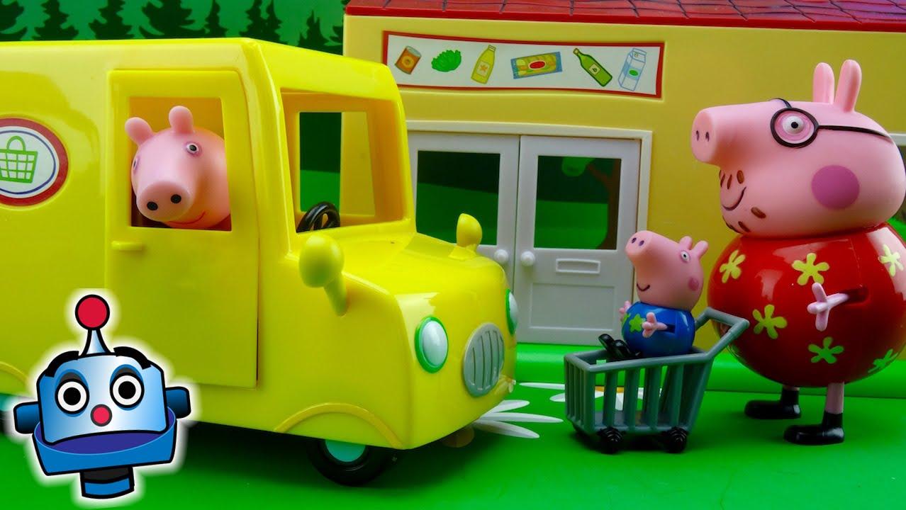 Pig's Van Peppa Supermarket Delivery From 2IEHWD9
