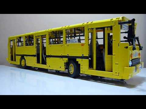 lego technic ikarus 260 motorized rc model bus moc youtube. Black Bedroom Furniture Sets. Home Design Ideas