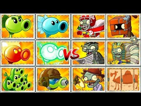 Plants vs Zombies 2 Walkthrough Mod All Peas vs Zombies Power UP Primal Gameplay PVZ 2 Mod