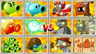 Plants vs Zombies 2 Walkthrough Mod All Peas vs Zombies Power UP Primal Gameplay PVZ 2 Mod