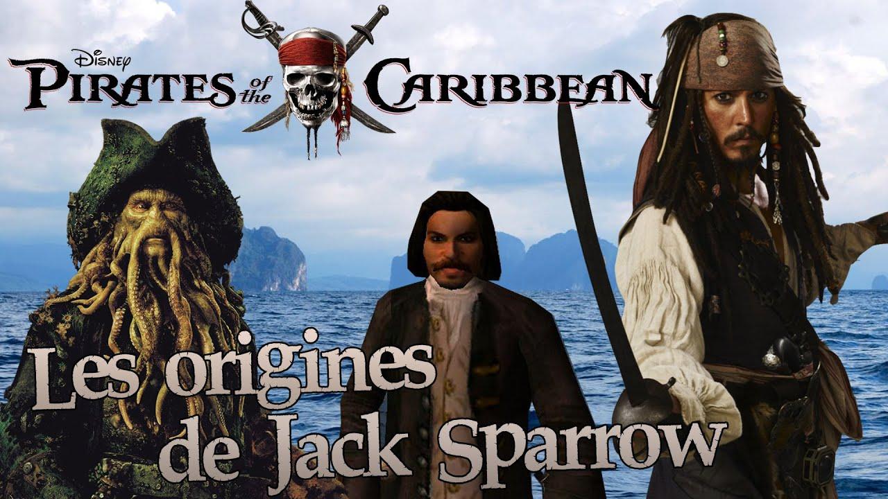 Les origines de jack sparrow et du black pearl pirates - Jack et le pirate ...
