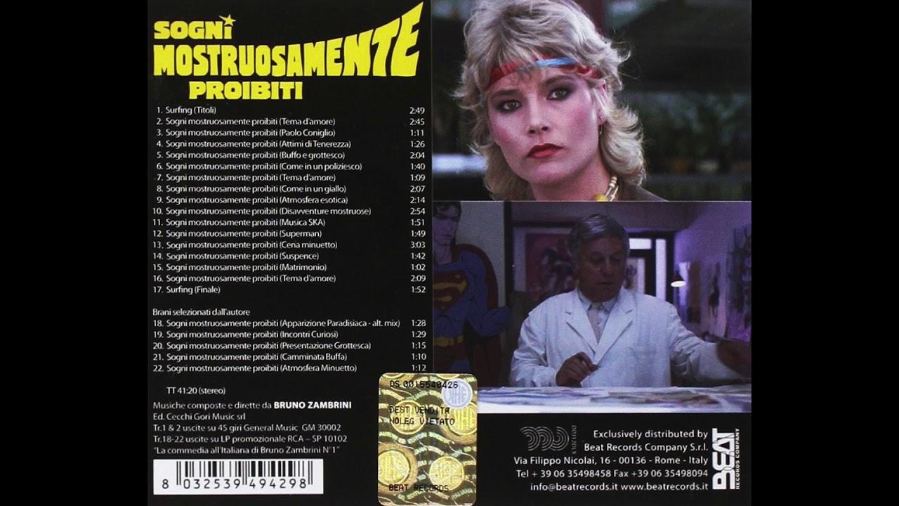Bruno Zambrini - Tema d'amore (Sogni mostruosamente proibiti) soundtrack