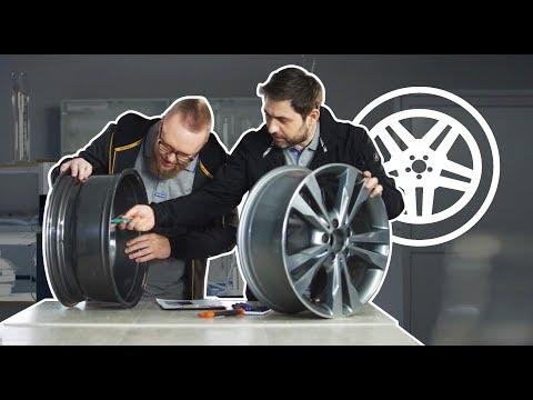 Битва деталей Mercedes-Benz: испытание колесных дисков