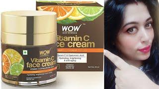 Truth of Wow Vitamin C face cream | SKIN CARE | WOW Vitamin C face cream