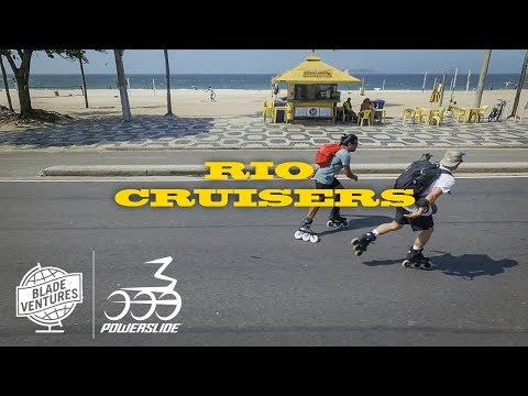 Rio Cruisers - Bladeventures South America trip X Powerslide Inline Skates
