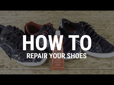 How To Repair Your Skate Shoes- Tactics