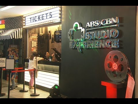 TV Patrol: Now open, ABS-CBN Studio Experience, where you're the newest Kapamilya star