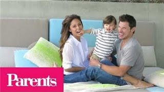 Nick and Vanessa Lachey: The New Parents Game | Parents