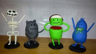 Dumb ways to die all figures polymer clay tutorial part 2