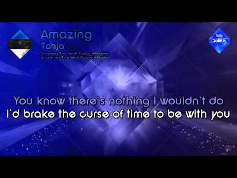 "Tanja - ""Amazing"" (Estonia) - [Karaoke Style]"
